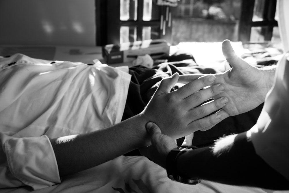 Controle de sintomas em cuidados paliativos